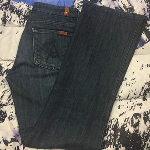 "🔥 7 for all Mankind ""A"" Pocket Jeans Size 26"